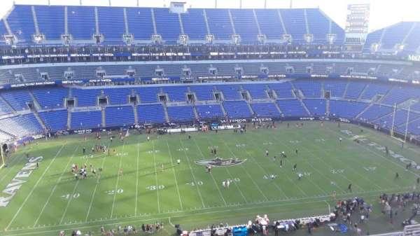 M&T Bank Stadium, section: 501, row: 8, seat: 8