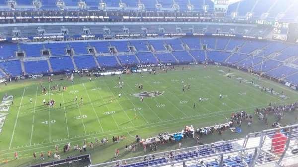 M&T Bank Stadium, section: 502, row: 8, seat: 8