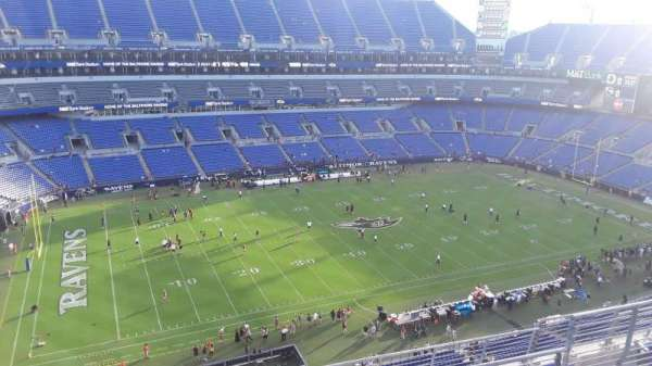 M&T Bank Stadium, section: 503, row: 8, seat: 8