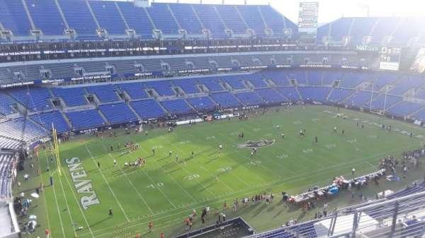 M&T Bank Stadium, section: 504, row: 8, seat: 8