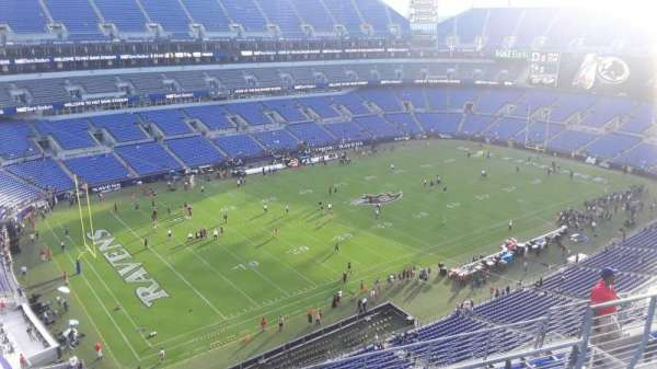 M&T Bank Stadium, section: 505, row: 8, seat: 8