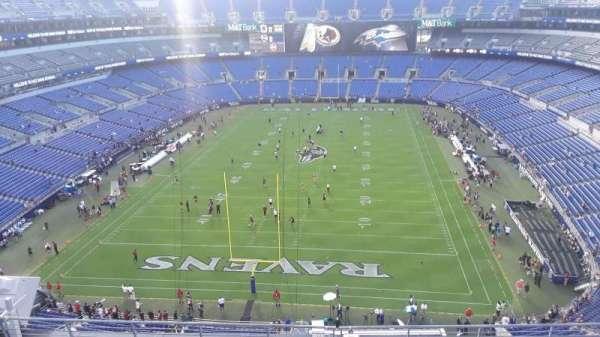 M&T Bank Stadium, section: 512, row: 8, seat: 8