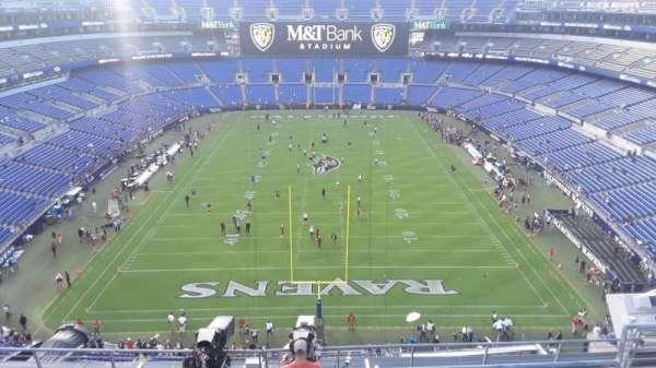 M&T Bank Stadium, section: 513, row: 8, seat: 6