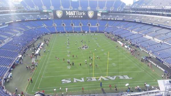 M&T Bank Stadium, section: 514, row: 8, seat: 7