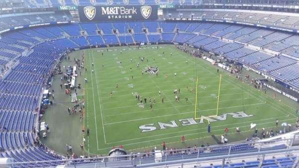 M&T Bank Stadium, section: 515, row: 8, seat: 8