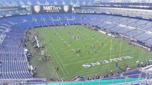 M&T Bank Stadium, section: 516, row: 8, seat: 8