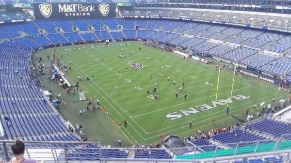 M&T Bank Stadium, section: 517, row: 8, seat: 8