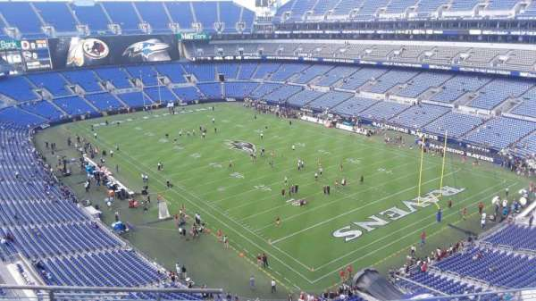 M&T Bank Stadium, section: 518, row: 8, seat: 8