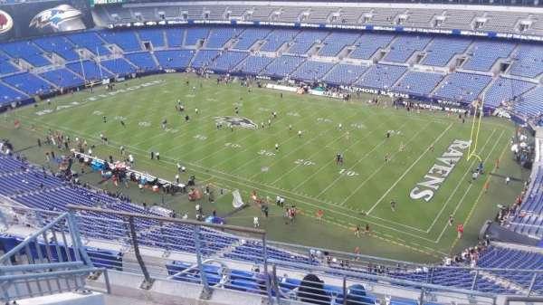 M&T Bank Stadium, section: 521, row: 8, seat: 8