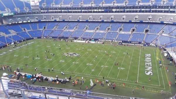 M&T Bank Stadium, section: 523, row: 8, seat: 8