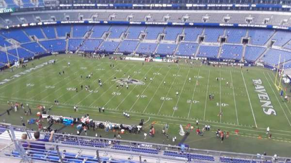 M&T Bank Stadium, section: 524, row: 8, seat: 8