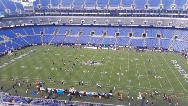 M&T Bank Stadium, section: 525, row: 8, seat: 8