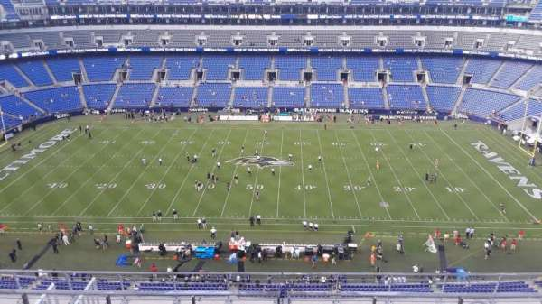 M&T Bank Stadium, section: 526, row: 8, seat: 8