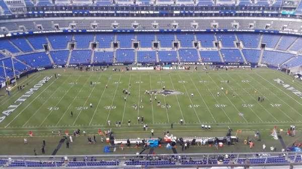 M&T Bank Stadium, section: 527, row: 8, seat: 8