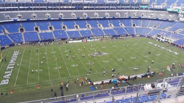 M&T Bank Stadium, section: 529, row: 8, seat: 8