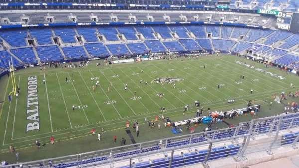 M&T Bank Stadium, section: 530, row: 8, seat: 8