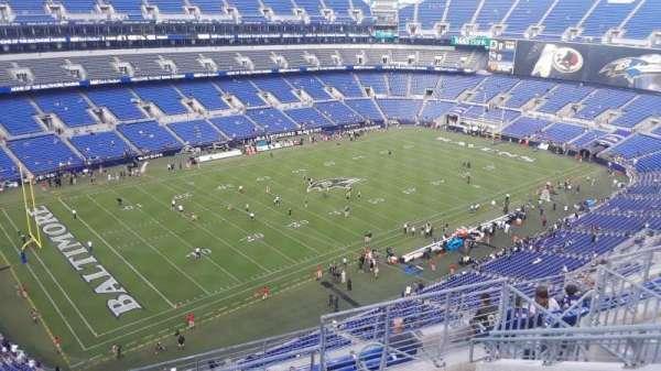 M&T Bank Stadium, section: 532, row: 9, seat: 9