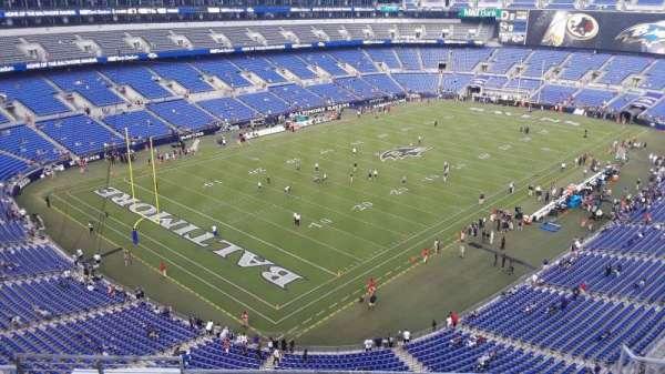 M&T Bank Stadium, section: 534, row: 5, seat: 5