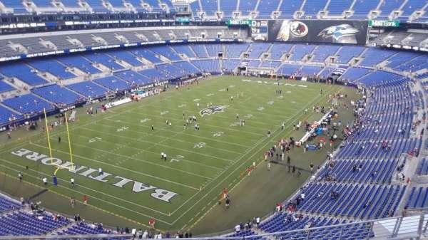 M&T Bank Stadium, section: 535, row: 8, seat: 8