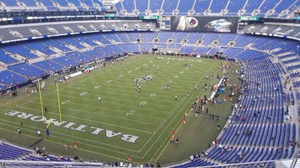 M&T Bank Stadium, section: 536, row: 8, seat: 8
