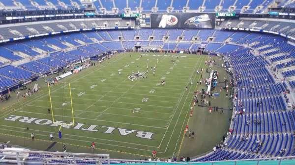 M&T Bank Stadium, section: 537, row: 8, seat: 8