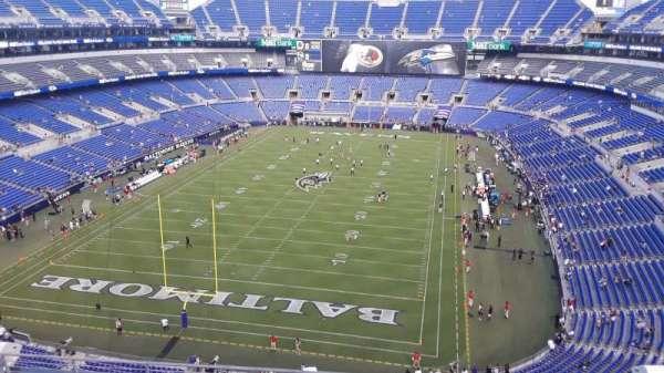 M&T Bank Stadium, section: 538, row: 8, seat: 9
