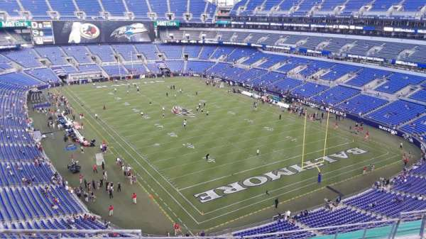 M&T Bank Stadium, section: 544, row: 8, seat: 8
