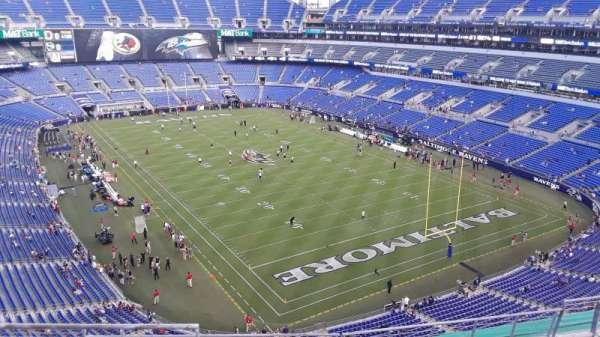M&T Bank Stadium, section: 544, row: 8, seat: 8