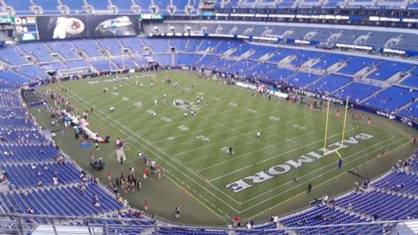 M&T Bank Stadium, section: 545, row: 8, seat: 8