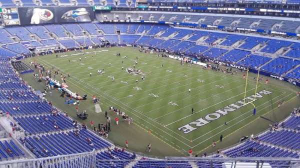 M&T Bank Stadium, section: 546, row: 8, seat: 1