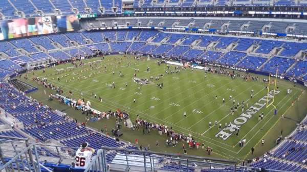 M&T Bank Stadium, section: 547, row: 8, seat: 6