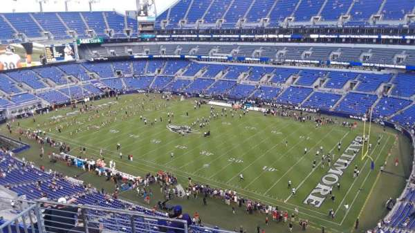M&T Bank Stadium, section: 548, row: 8, seat: 8