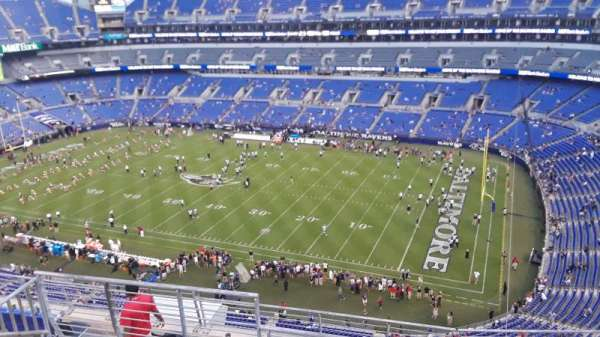 M&T Bank Stadium, section: 549, row: 8, seat: 8