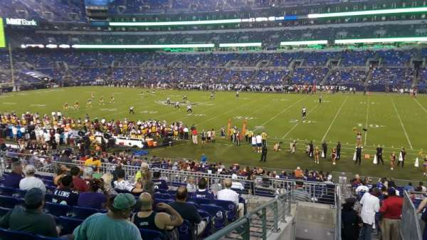 M&T Bank Stadium, section: 150, row: 29, seat: 1