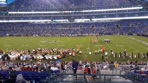 M&T Bank Stadium, section: 152, row: 32, seat: 1