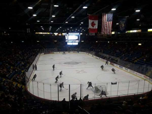 Santander Arena, section: 124, row: V, seat: 7