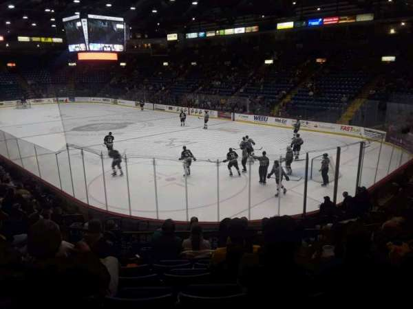 Santander Arena, section: 101, row: P, seat: 8