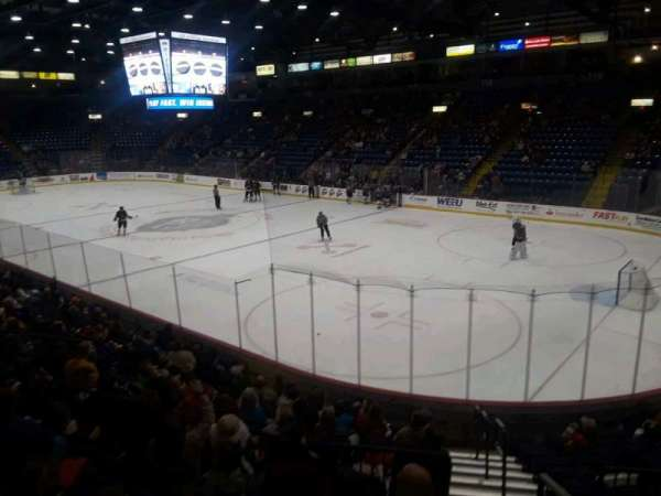 Santander Arena, section: 102, row: N, seat: 1
