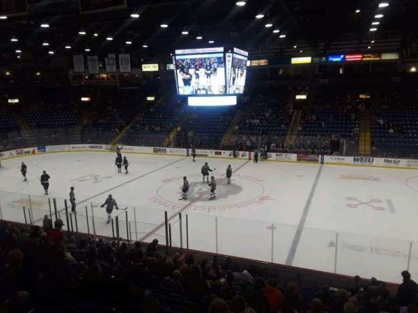 Santander Arena, section: 104, row: S, seat: 1