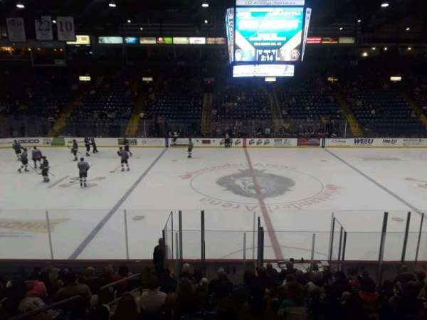 Santander Arena, section: 105, row: P, seat: 10