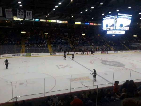 Santander Arena, section: 107, row: N, seat: 9