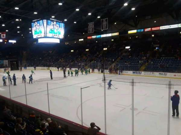 Santander Arena, section: 114, row: G, seat: 6