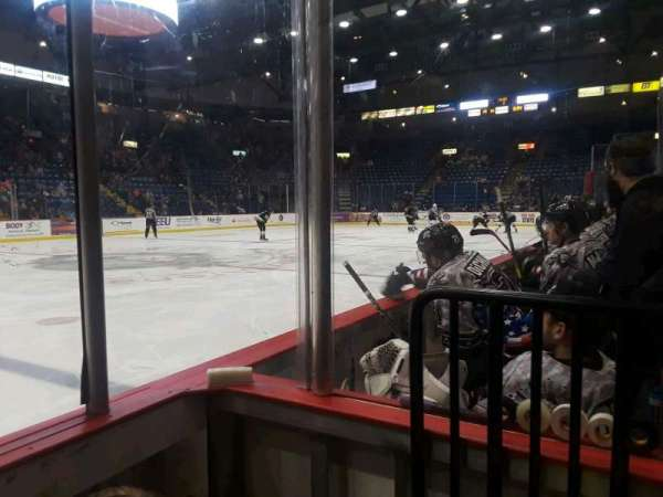 Santander Arena, section: 118, row: B, seat: 12