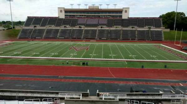 Louis Crews Stadium, section: 21, row: 30, seat: 9