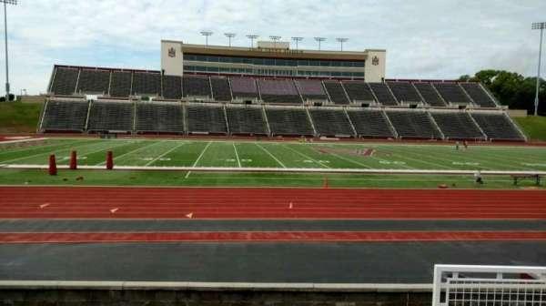 Louis Crews Stadium, section: 24, row: 5, seat: 4