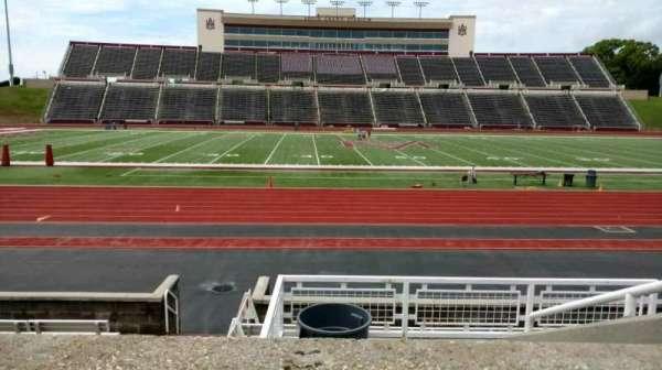 Louis Crews Stadium, section: 23, row: 6, seat: 5