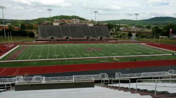 Louis Crews Stadium, section: 12, row: 20, seat: 8