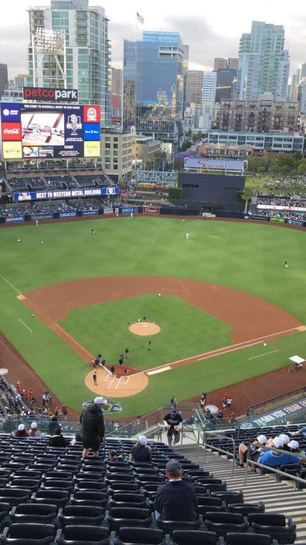 PETCO Park, section: 300, row: 27, seat: 4