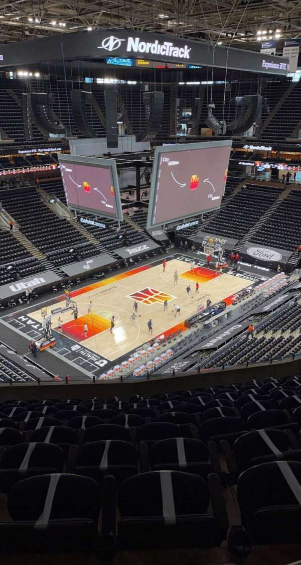 Vivint Arena, section: 117, row: 11, seat: 11