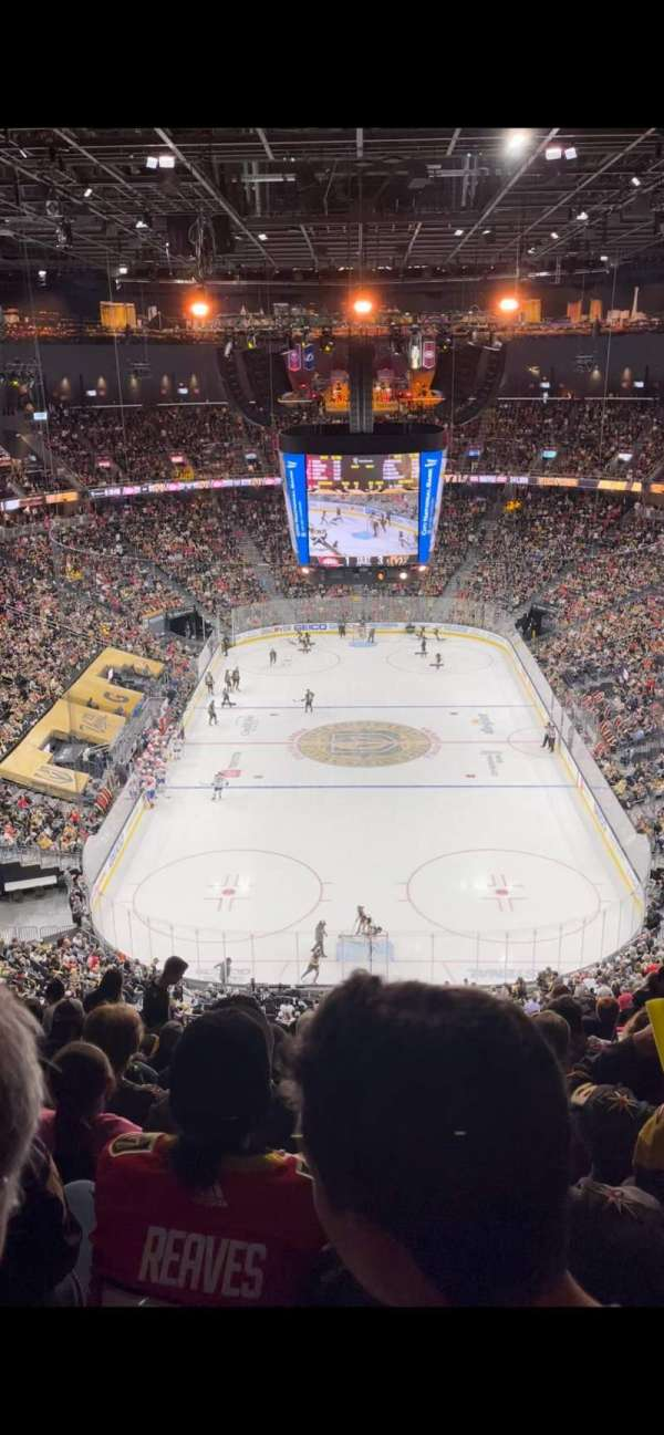 T-Mobile Arena, section: 214, row: N, seat: 10